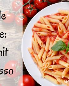 Schnelle Rezepte: Pasta mit Pesto rosso