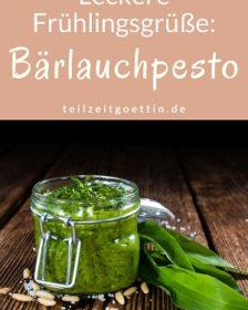 Leckere Frühlingsgrüße: Bärlauchpesto