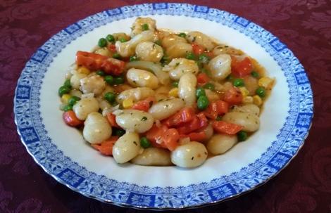 Anfängertauglicher Gnocchi-Gemüse-Topf