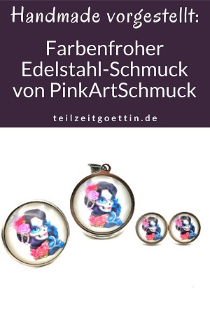 Handmade vorgestellt: Farbenfroher Edelstahl-Schmuck von PinkArtSchmuck